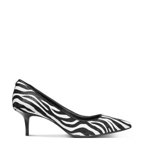 🆕 MICHAEL KORS Calf-hair Zebra Kitten Heel Pumps